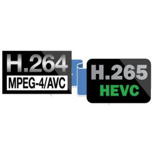 Практические данные для H.264/H.264+/H.265/H.265+!