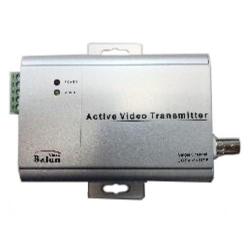 Адаптер активный(передатчик) для передачи видеосигнала по витой паре BNC-UTP-003T