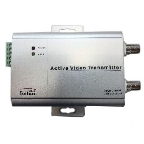 Адаптер активный(приемник) для передачи видеосигнала по витой паре BNC-UTP-003R