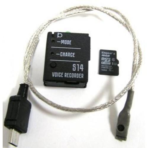 Профессиональный мини диктофон Сорока 14