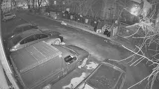 Видеокамера IP IVM-2329-2.8. Улица, ночь