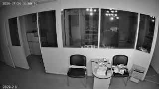 Видеокамера IP IVM-2829-2.8. Офис, ночь