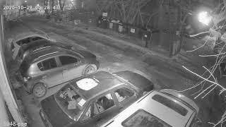 Видеокамера IP IVM-5948-POE. Улица, ночь