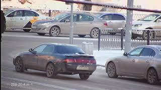 Видеокамера AHD IVM-259-20-4-in-1. Улица, машины на перекрестке!