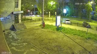 Видеокамера IP IVM-2329-2.8. 2MP, SONY IMX307, HI3516EV200, 2.8мм, POE. Улица, ночь!