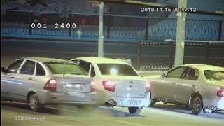 Видеокамера AHD IVM-259-20-4-in-1. Улица, ночь, машины на перекрестке!