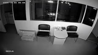 Видеокамера IP IVM-5825-AI. Офис, ночь
