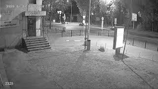 Видеокамера IP IVM-2325. Улица, ночь